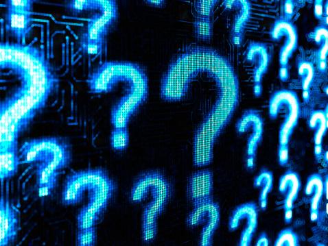 Circuit Board「Question」:スマホ壁紙(17)