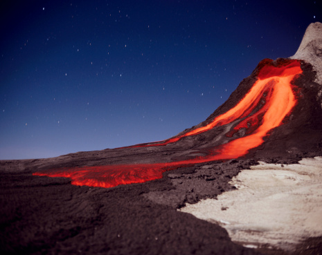 Volcanic Landscape「Tanzania, volcano ol doinyo Lengai」:スマホ壁紙(9)