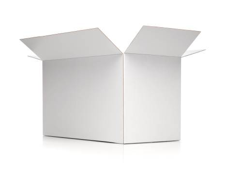 Cardboard「White box」:スマホ壁紙(1)