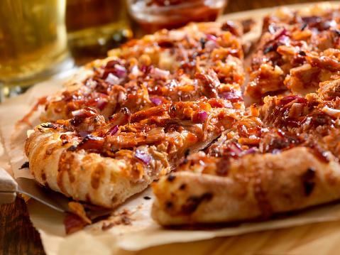 Savory Food「BBQ Pulled Pork Pizza」:スマホ壁紙(5)