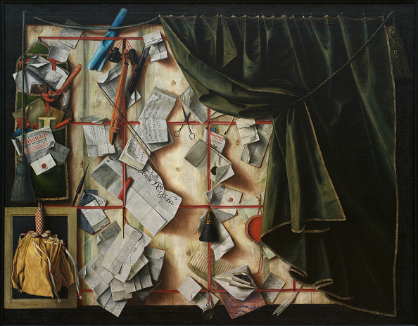 Painting - Activity「Trompe Loeil Letter Rack With Proclamation By Frederik Iii」:写真・画像(10)[壁紙.com]