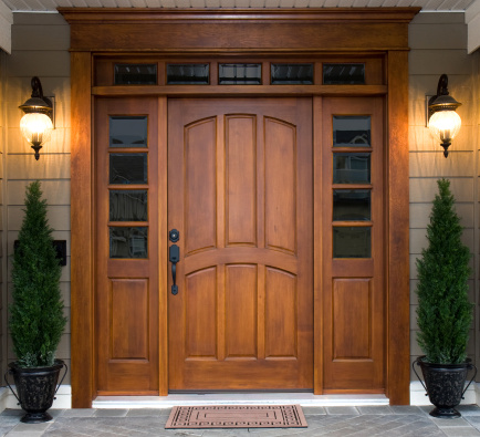 Door「Beautiful Wooden Door」:スマホ壁紙(1)