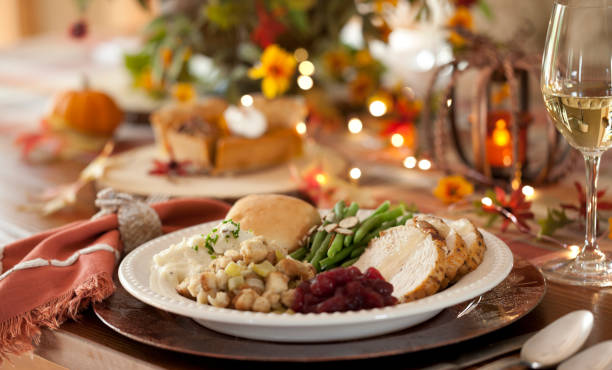 Thanksgiving Turkey Dinner:スマホ壁紙(壁紙.com)