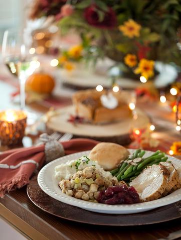 Stuffing - Food「Thanksgiving Turkey Dinner」:スマホ壁紙(19)