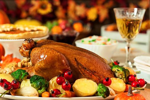 かえでの葉「感謝祭ディナー」:スマホ壁紙(18)