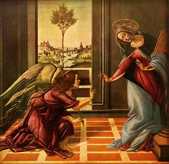 Virgin Mary「The Cestello Annunciation」:写真・画像(16)[壁紙.com]