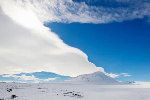 Active Volcano「Mount Erebus, Ross Island, Antarctica」:スマホ壁紙(14)