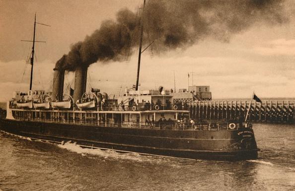 1900-1909「The Mail-Steamer Stad Antwerpen」:写真・画像(0)[壁紙.com]