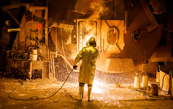 Industry「Steel Production At Salzgitter AG」:写真・画像(19)[壁紙.com]