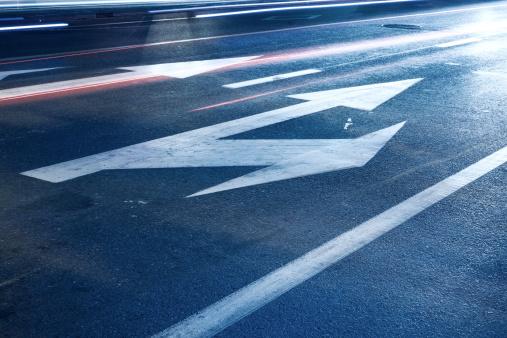 Guidance「Arrow signs on asphalt」:スマホ壁紙(11)