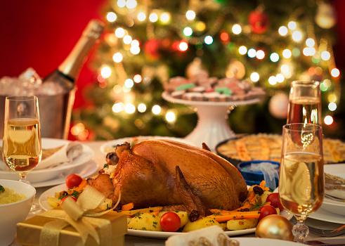 Turkey - Bird「Christmas Turkey Dinner」:スマホ壁紙(6)