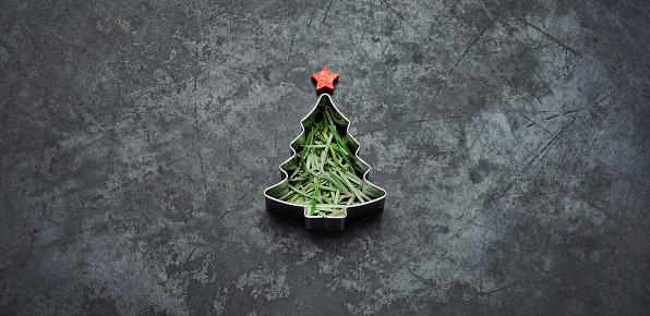 Baked「Christmas Tree - Holiday Blackboard Metal Gold Glitter Fun Humor」:スマホ壁紙(12)