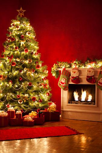 Christmas「Christmas Tree」:スマホ壁紙(3)
