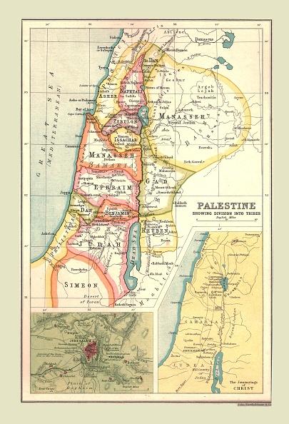 Mediterranean Sea「Map Of Palestine」:写真・画像(8)[壁紙.com]