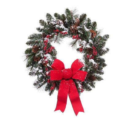 Velvet「Isolated Holiday Wreath (XXL)」:スマホ壁紙(6)