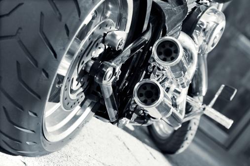 Funky「Motorbike Exhaust」:スマホ壁紙(6)