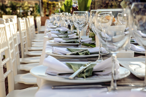 Party - Social Event「Table setting for an event」:スマホ壁紙(17)