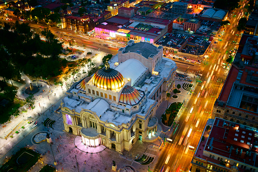 Mexico「Mexico City panoramic view from observation deck」:スマホ壁紙(15)