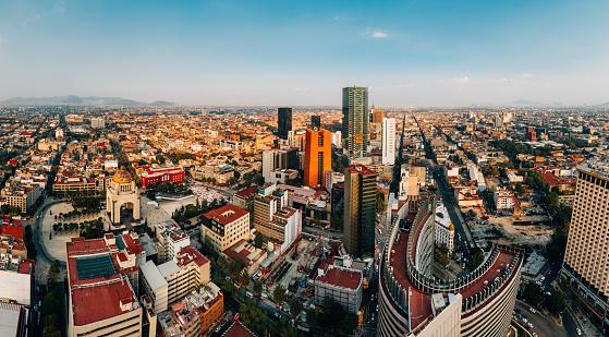 Mexico「Mexico City Skyline」:スマホ壁紙(16)
