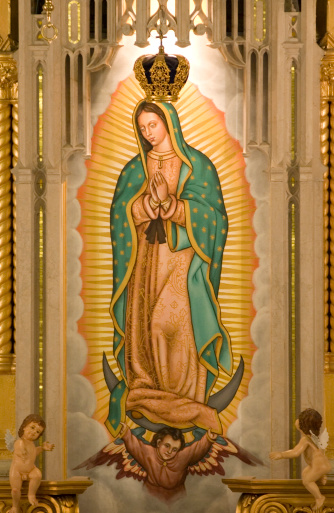 Mexico「The Virgin of Guadalupe」:スマホ壁紙(1)