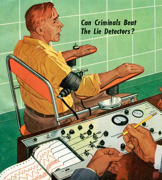 Lying Down「Man Taking Lie Detector Test」:写真・画像(18)[壁紙.com]