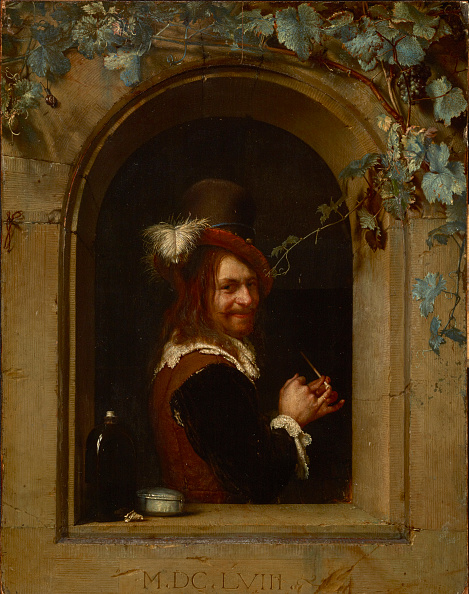 Painting - Activity「Man With Pipe At A Window」:写真・画像(4)[壁紙.com]