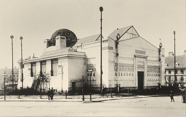 Architecture「Side elevation and back view of the Secession in V」:写真・画像(14)[壁紙.com]