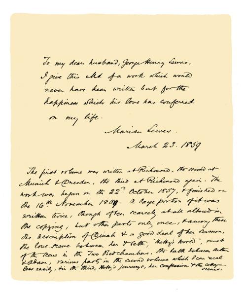 1900「Autograph: 'George Eliot', 1859.」:写真・画像(19)[壁紙.com]