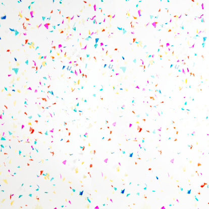 Celebration「Different coloured confetti」:スマホ壁紙(14)