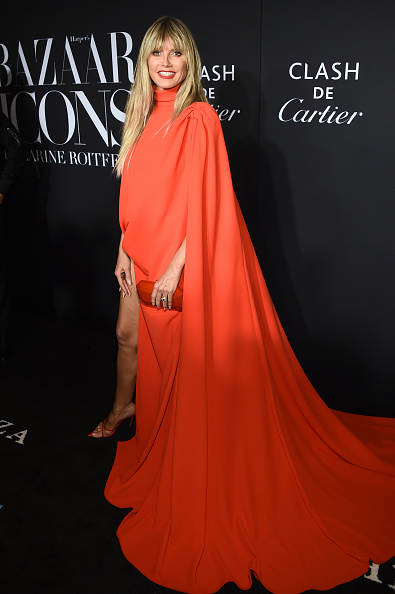 """Orange Color「Harper's BAZAAR Celebrates """"ICONS By Carine Roitfeld"""" At The Plaza Hotel Presented By Cartier - Arrivals」:写真・画像(16)[壁紙.com]"""