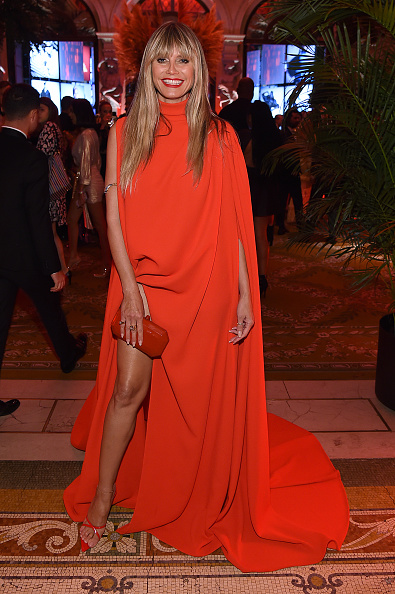 """Orange Color「Harper's BAZAAR Celebrates """"ICONS By Carine Roitfeld"""" At The Plaza Hotel Presented By Cartier - Inside」:写真・画像(19)[壁紙.com]"""