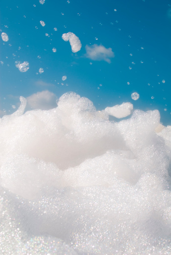 Soap「Sea of soap suds from a foam pit obstacle」:スマホ壁紙(3)