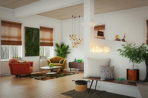 Inexpensive「Warm and Cozy Interior」:スマホ壁紙(17)