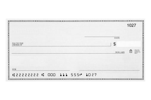 Banking「Blank check」:スマホ壁紙(19)