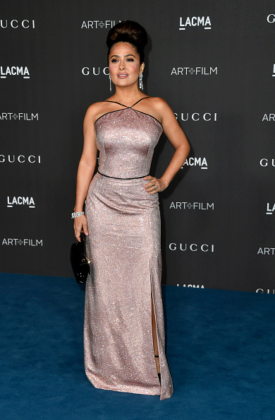 Metallic Dress「2019 LACMA Art + Film Gala Presented By Gucci - Arrivals」:写真・画像(13)[壁紙.com]