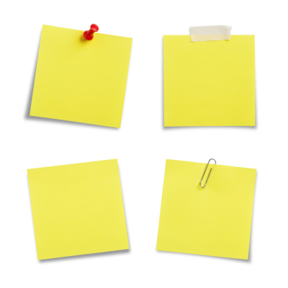 Adhesive Note「Adhesive Notes with Clipping Path」:スマホ壁紙(3)