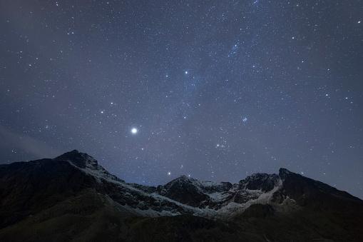 Star - Space「Night sky, Skagsand, Lofoten Islands,  Norway」:スマホ壁紙(9)