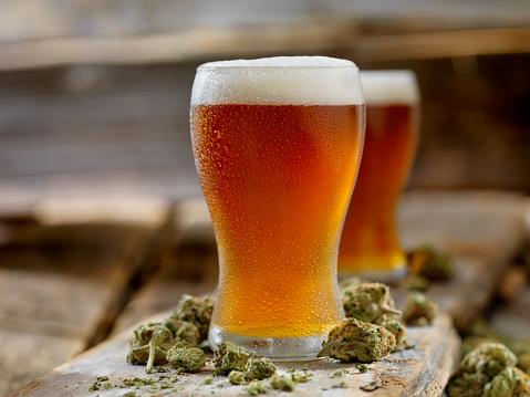 Beer - Alcohol「Cannabis Infused Amber Ale」:スマホ壁紙(8)