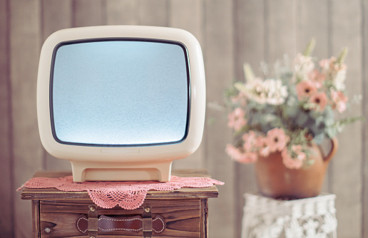 Eyesight「Retro tv and White noise on television」:スマホ壁紙(18)