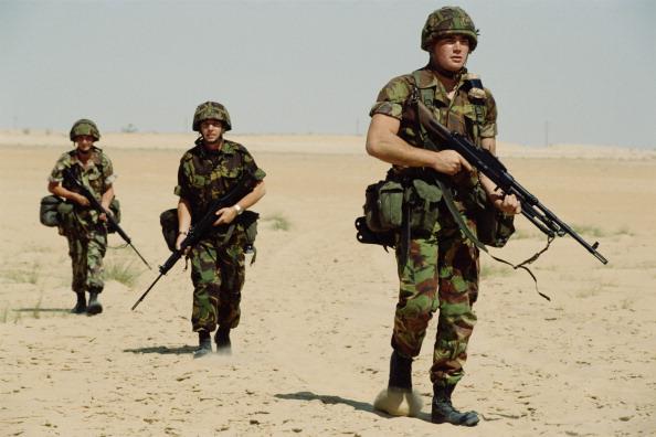 Tom Stoddart Archive「British Gulf War Troops」:写真・画像(12)[壁紙.com]