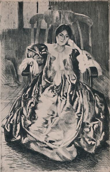 T 「The Silk Dress 1887」:写真・画像(17)[壁紙.com]