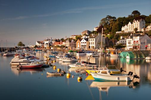 Jersey - England「Morning light on St Aubins Harbour, St Aubins, Jersey, Channel Islands」:スマホ壁紙(0)