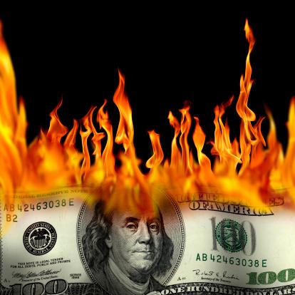 Inferno「burning money」:スマホ壁紙(7)