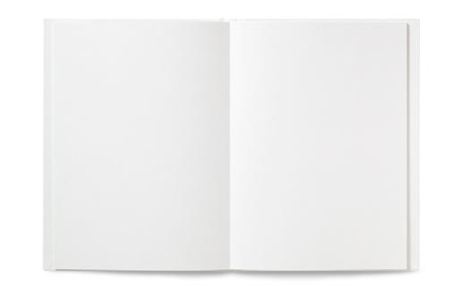 Hardcover Book「Blank open Book」:スマホ壁紙(4)
