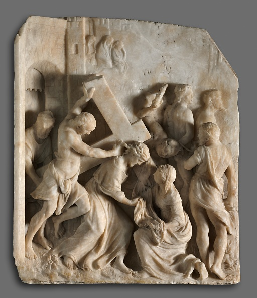 Alabaster「Christ Carrying The Cross With Saints Simon And Veronica」:写真・画像(4)[壁紙.com]