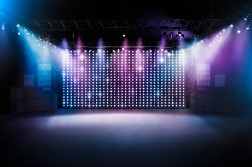 Rock Music「Concert stage」:スマホ壁紙(15)