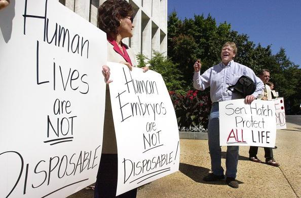 Preacher「Stem Cell Research Protest」:写真・画像(1)[壁紙.com]
