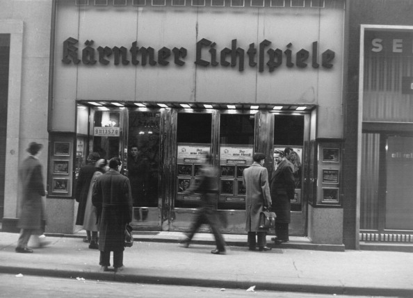 Movie Theater「Carinthian Cinema. About 1954. Photograph.」:写真・画像(13)[壁紙.com]