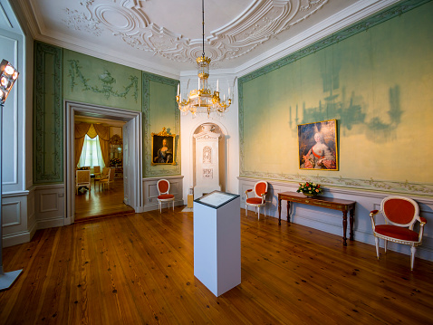 Castle「Germany, Eutin, Eutin Castle, Showrooms with historic interiors」:スマホ壁紙(8)