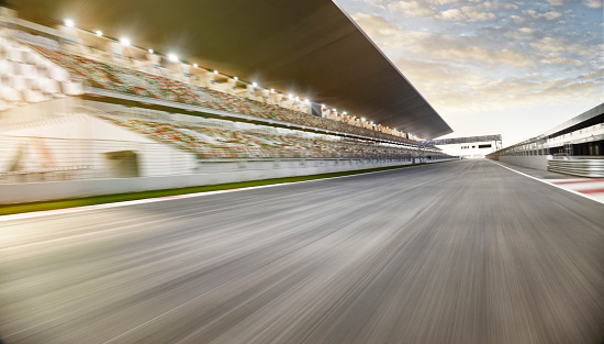Motorsport「Race track starting line」:スマホ壁紙(14)